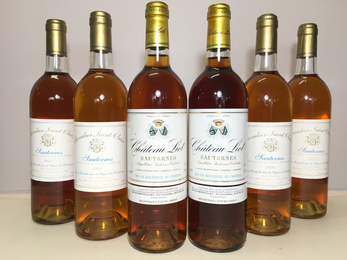 Sauternes: 2x 1997 Château Liot & 4x 1993 Chevalier Saint Clair - 6 bottles (75cl) in total