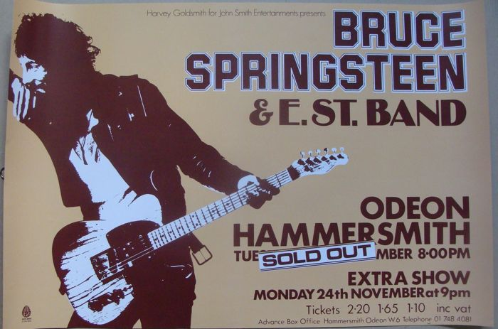 Bruce Springsteen Hammersmith Odeon London 1975