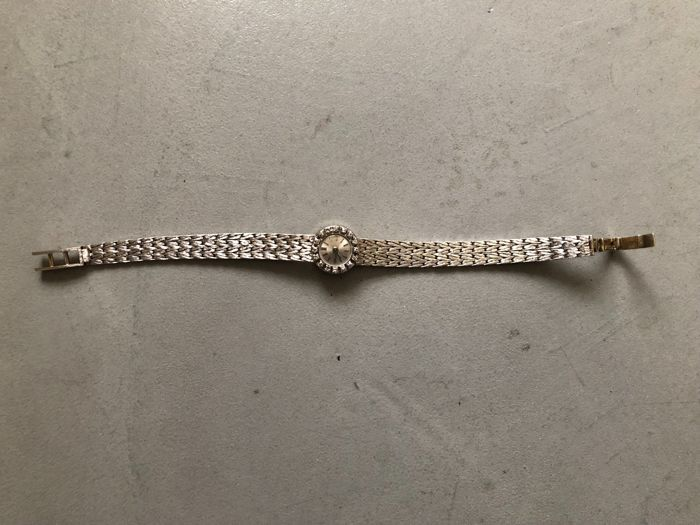 WATCH in WHITE GOLD with DIAMOND