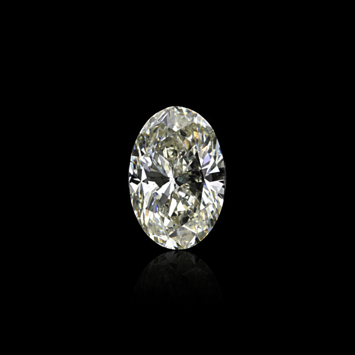 1 pcs Diamond - 0.94 ct - Oval - K - SI1