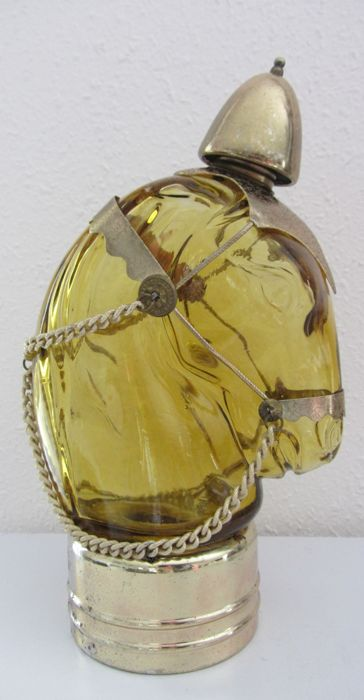 "Oil bottle ""Horse's head"" with music"