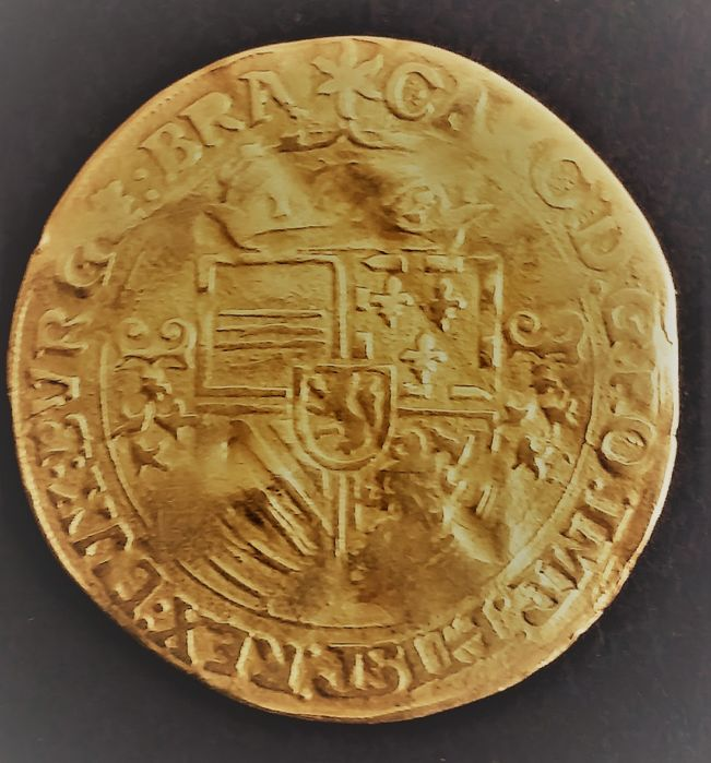 Netherlands - Brabant (Duchy of) - Couronne d'or 1544 - Gold