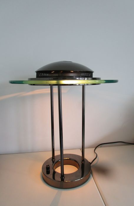S.M.C Holland Boxford   Design Halogen Table/desk Lamp With Dimmer