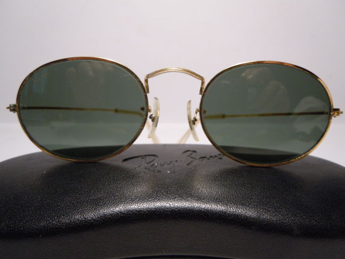 ee4eda6ebab813 RAY-BAN Classic Collection 1 Arista By B L U.S.A. - W0976 With Hard Case  Lunettes