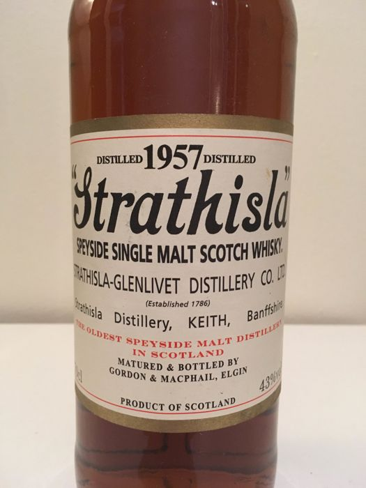 Strathisla 1957 bottled 2007 - G&M