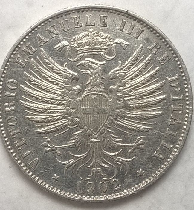 Italy - Kingdom of Italy - 25 Centesimi 1902