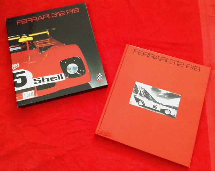 Very rare and great book 'CAVALLERIA #2 Ferrari 312P/B Spor' s/n #0896