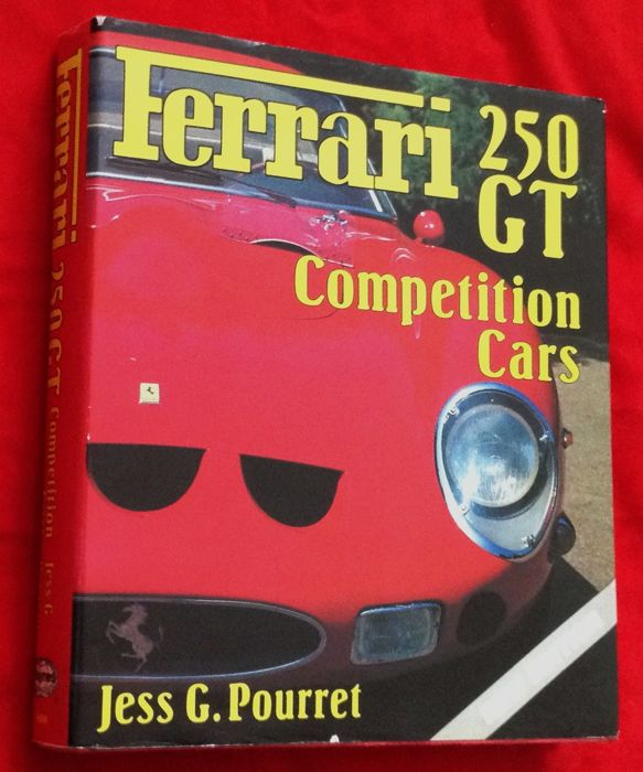 Fantastic and very rare book 'FERRARI 250GT Competition Cars' by Jess Pourret