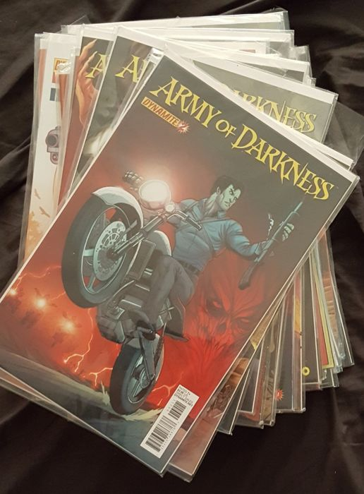Army of Darkness 43 Comics + 2 TPB 45X SC