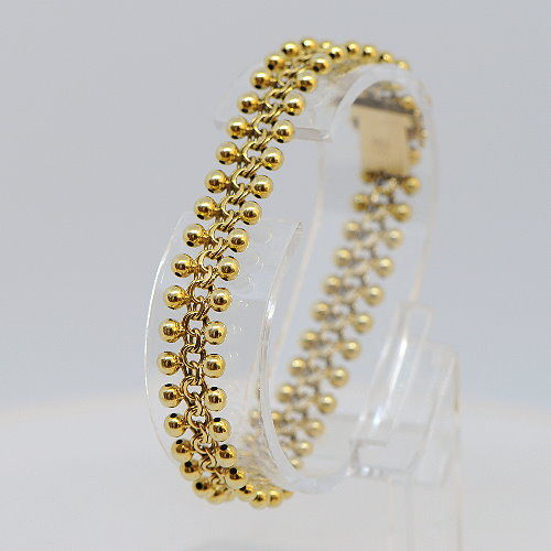Bracelet made of 585 yellow gold - 18.74 g