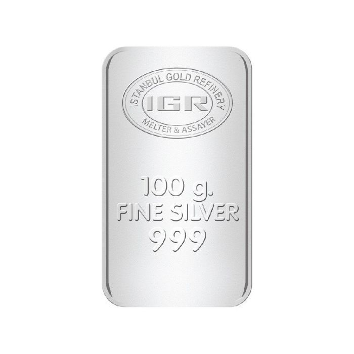 IGR - 100 gr. - 999/1000 - Minted-Sealed