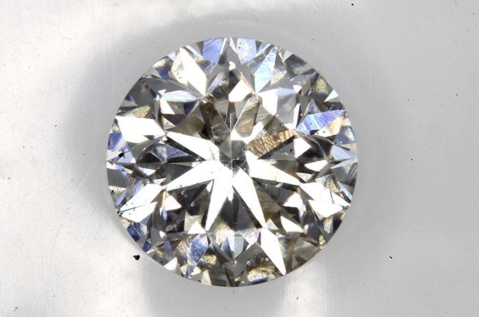 AIG Sealed Diamant - 1.01 ct - H ,SI2 - Very Good Cut