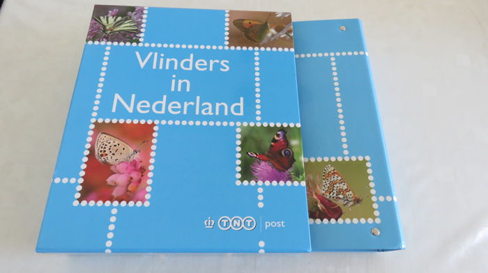 Netherlands 2009 - Personalized stamps butterflies in album