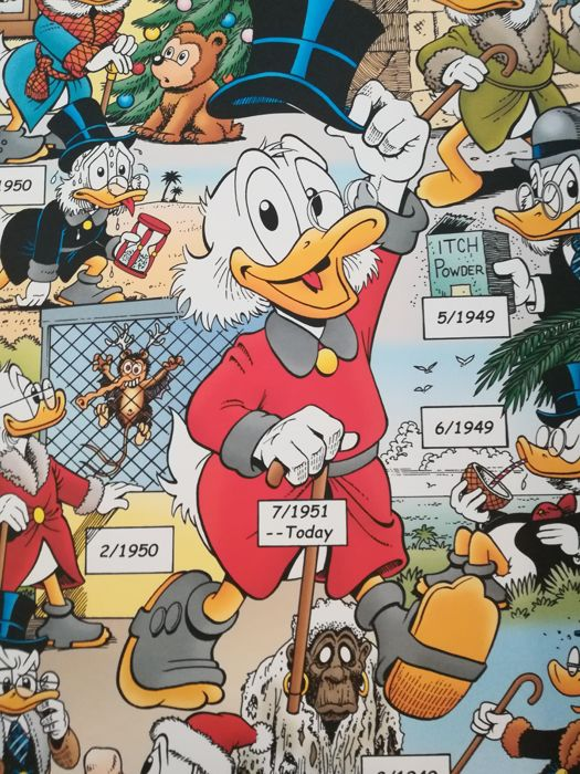 Donald Duck - Scrooge Through The Years - anders - (2007)