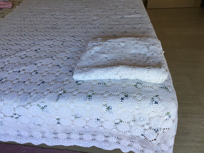 two quilts croquett benches summer vintage 1.50 mt x 2.55 m