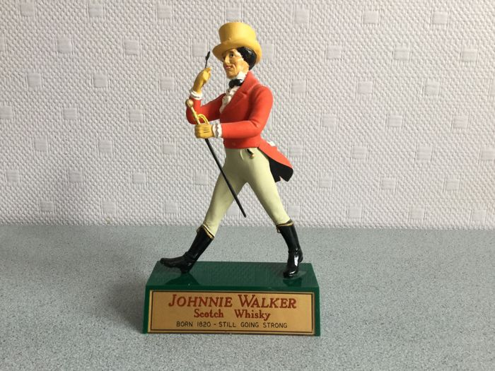 Very old 'Dandy' figurine of Johnnie Walker whisky - 1950s - England
