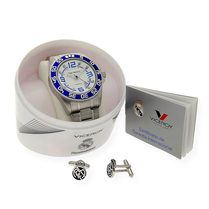 a91135796f66 Reloj Viceroy - Real Madrid - 13 Champions - Hombre - 432857-05 ...