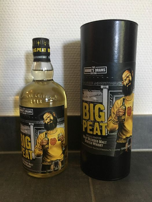 Big Peat - The Robbie's Drams Edition  - Limited Edition 2018 - Douglas Laing