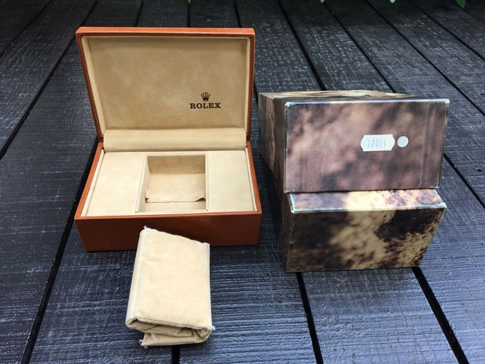 Rolex - ''Ref.17014'' - Oyster Quartz Leather box - Men - 1970-1979