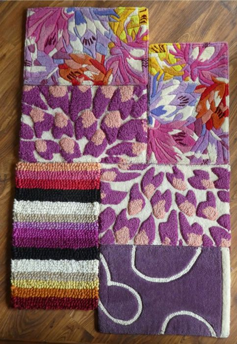 Missoni - 100% wool carpet - 138 x 90 cm - coloured and patterned