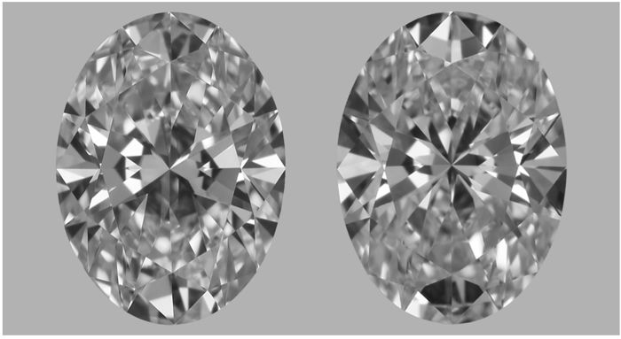 Pair of Oval Cut Diamonds 1.02ct total F IF GIA - Low Reserve Price - #2856-2857