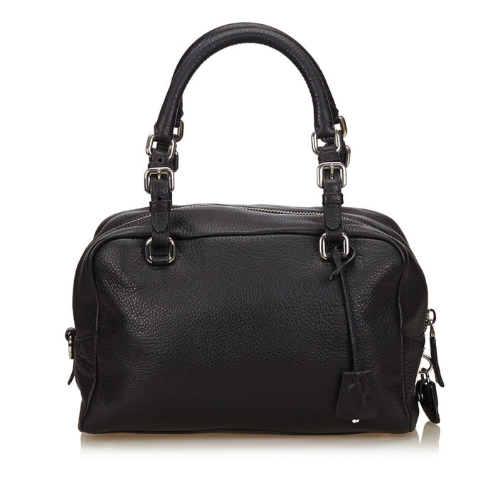 60b18722b5a2 Prada - Vitello Daino Bauletto Bag - Catawiki