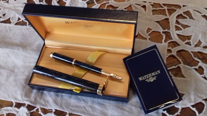 Waterman fountain pen with case