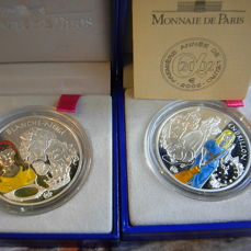 France - 1.5 Euro 2002 Cinderella and Blanche Neige