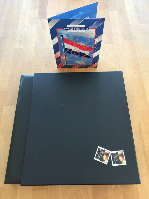 The Netherlands 1990/1999 - Collection in Davo LX album with folder Twelve Provinces