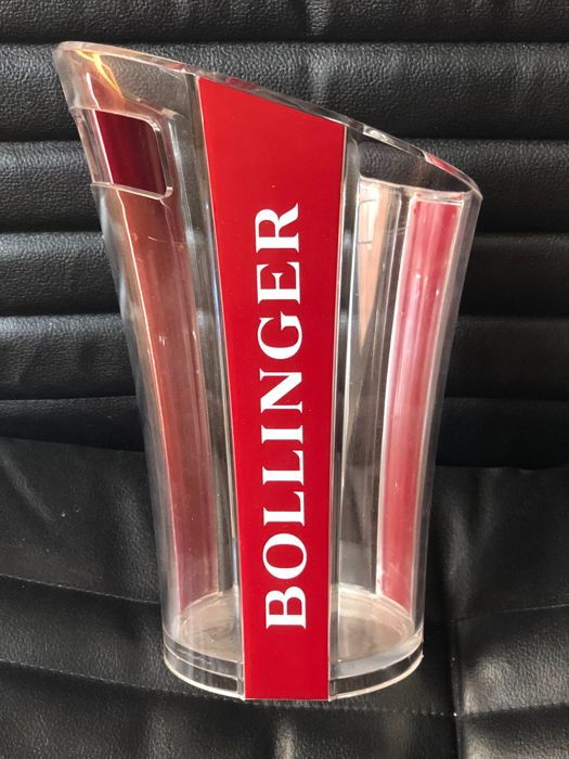 Vintage and exclusive Champagne BOLLINGER ice bucket designed By Eric Barthes