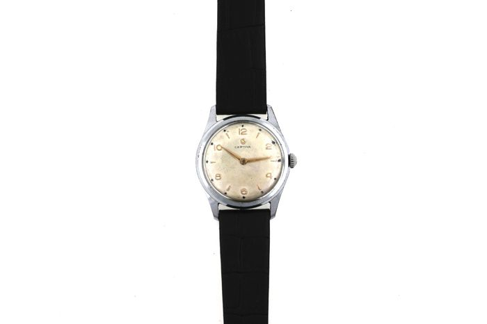 Certina - chronometer - 41522-2 - men's - 1950-1959