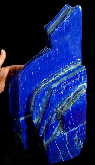 Natural & Unheated - Blue Lapis Lazuli tumble - 520x250x180 mm - 31 kg