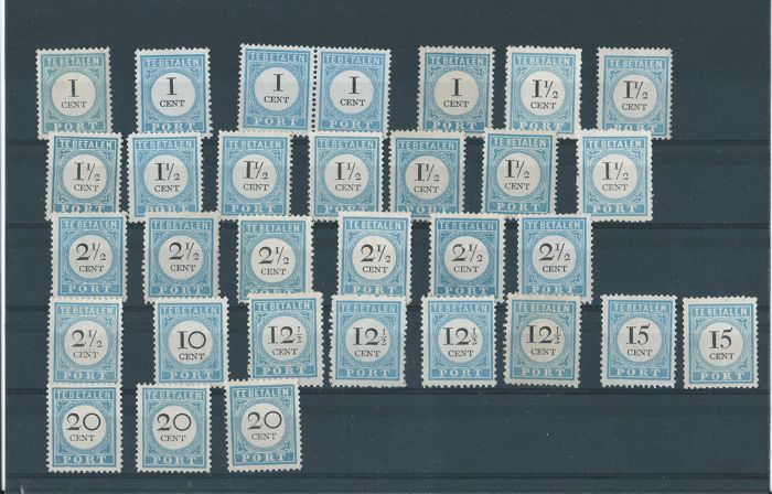 Netherlands - batch of stamps