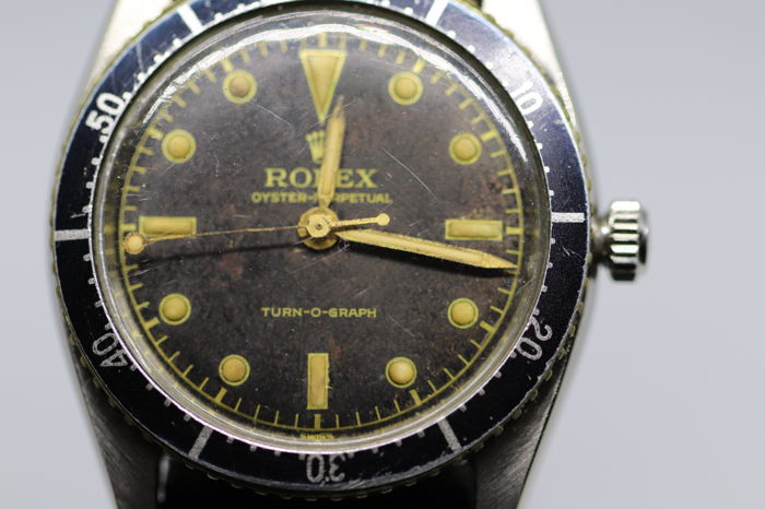 Rolex - oyster perpetual Turn -o- graph - 6202 - Heren - 1950-1959