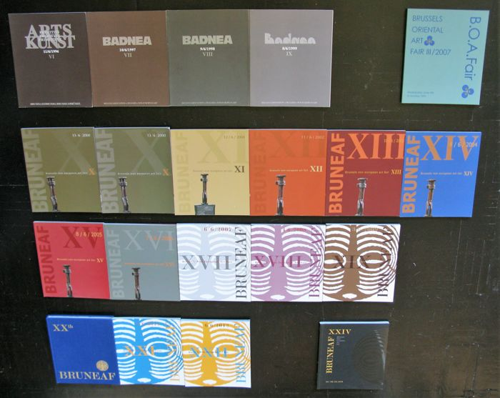 BRUNEAF Brussels Catalogues-20 years