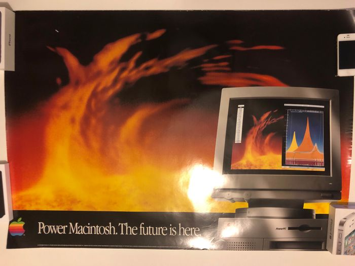 Poster Apple - Power Macintosh 7100/66