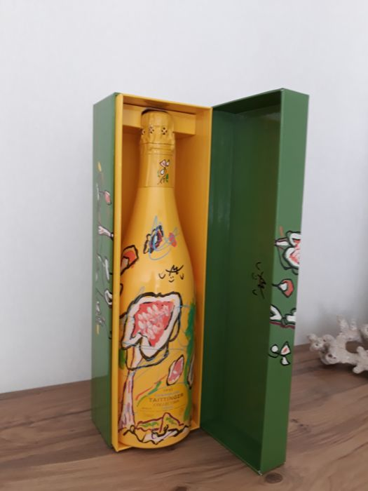 1992 Champagne Taittinger Collection Matte - 1 bottle with original coffret