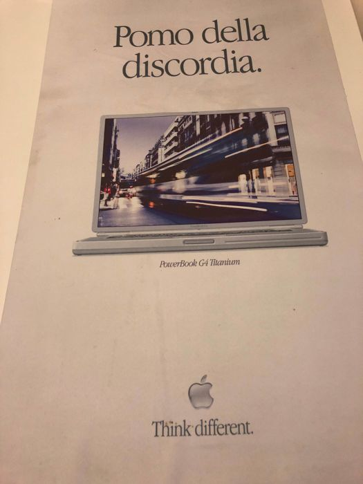 Apple computer iBook & MacBook poster