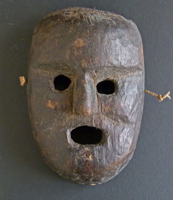 Wooden mask - West Nepal - mid 20th century