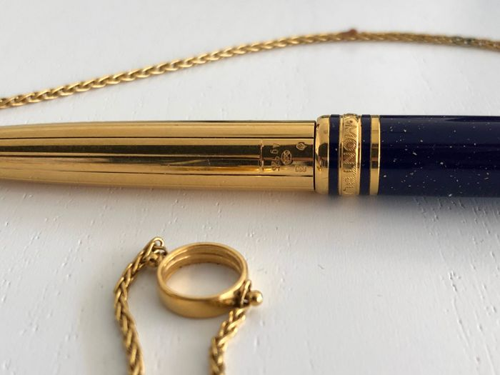 Montblanc fantastic Mozart blue with chain