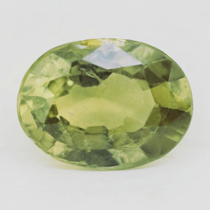 Green Sapphire - 1.39 ct - no reserve price