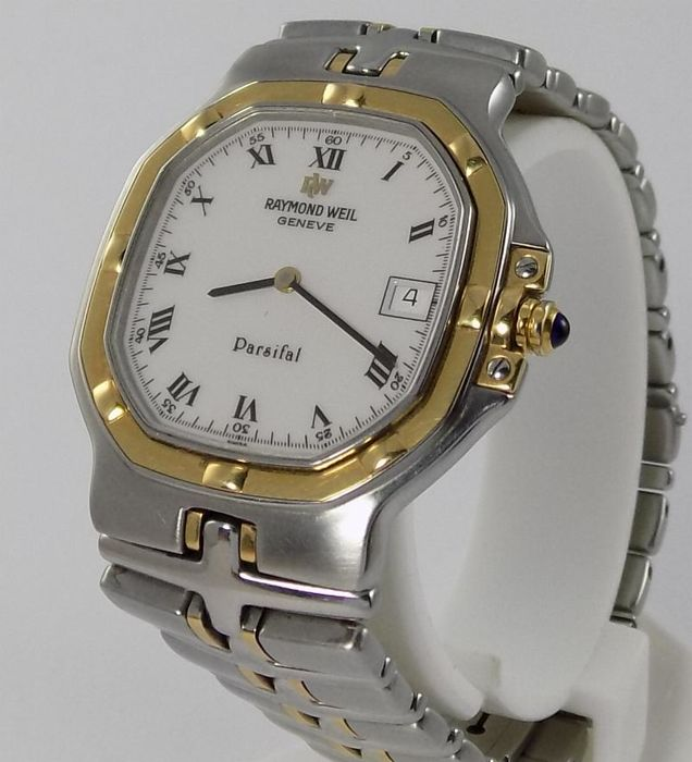 8339a43f44e Raymond Weil - Parsifal - Slim Square - SS 18K Yellow Gold - 9290 ...
