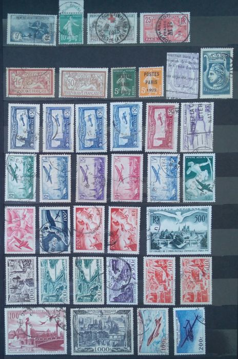France - Semi-modern period including Orphans, Phéna, Airmail and end of catalogue