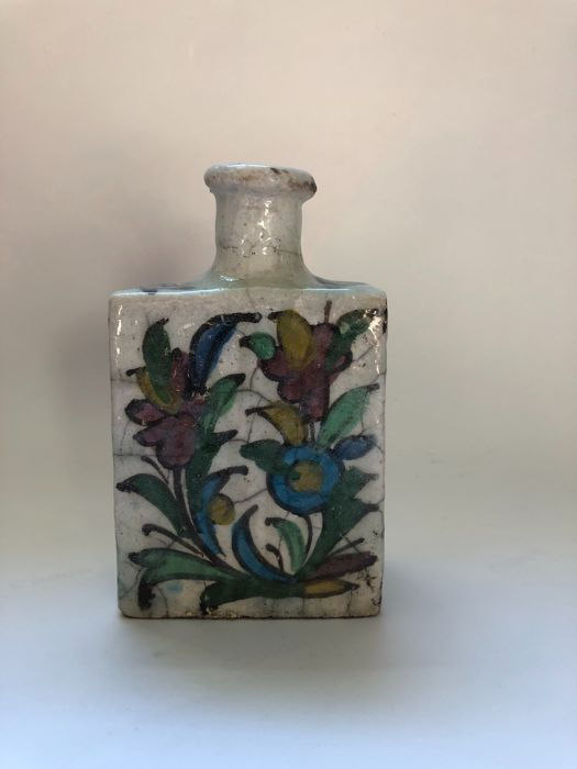 Ceramic bottle from Persia - Iran - ca. 1800