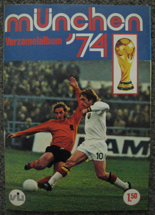 Variant of Panini - Vanderhout - München '74 - Complete album with football pictures