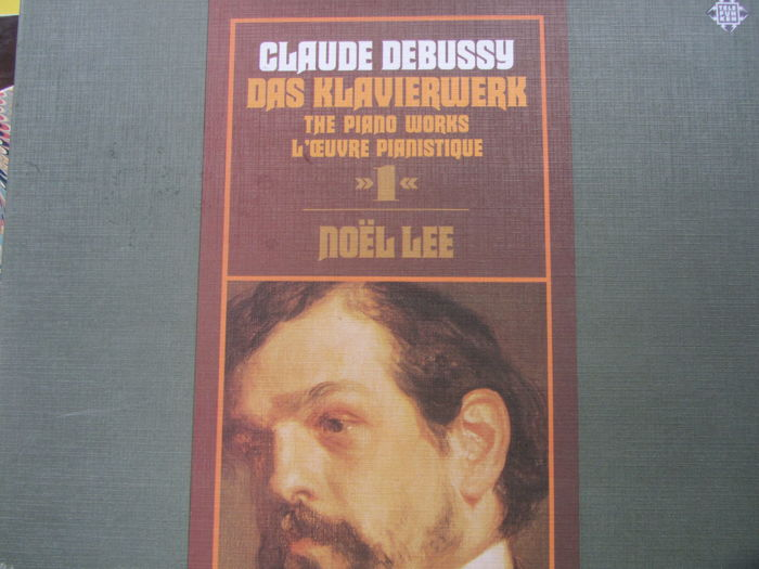 Claude Debussy The Pano Works - Noel Lee Pf Vol1 And 2 - Debussy Ravel Chamber Music