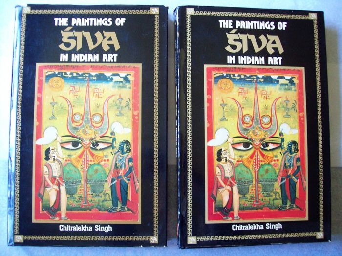 Singh, Ch. - The Paintings of Siva in Indian Art - 2 volume set - 1990