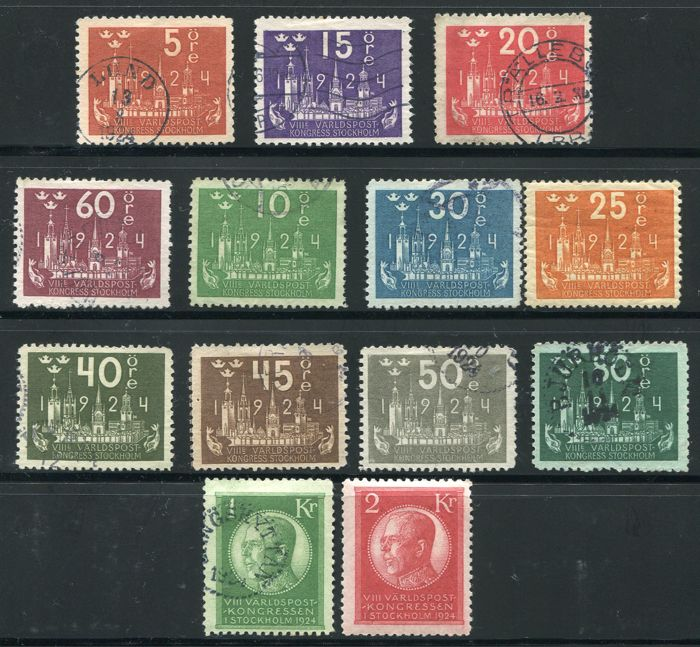 Sweden 1855/1940 - Collection beginning with classics