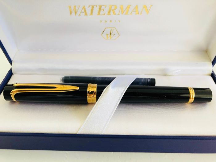 The thick Waterman fountain pen 750 gold nib