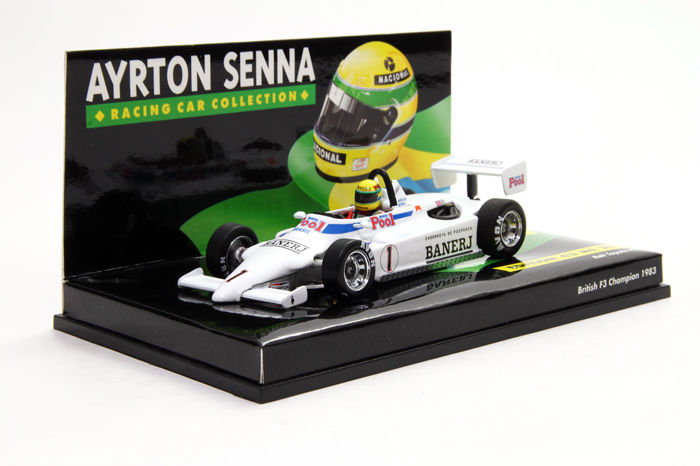 MiniChamps - 1:43 - Ralt Toyota RT3 A. Senna British F3 Champion 1983 - Ayrton Senna Collection